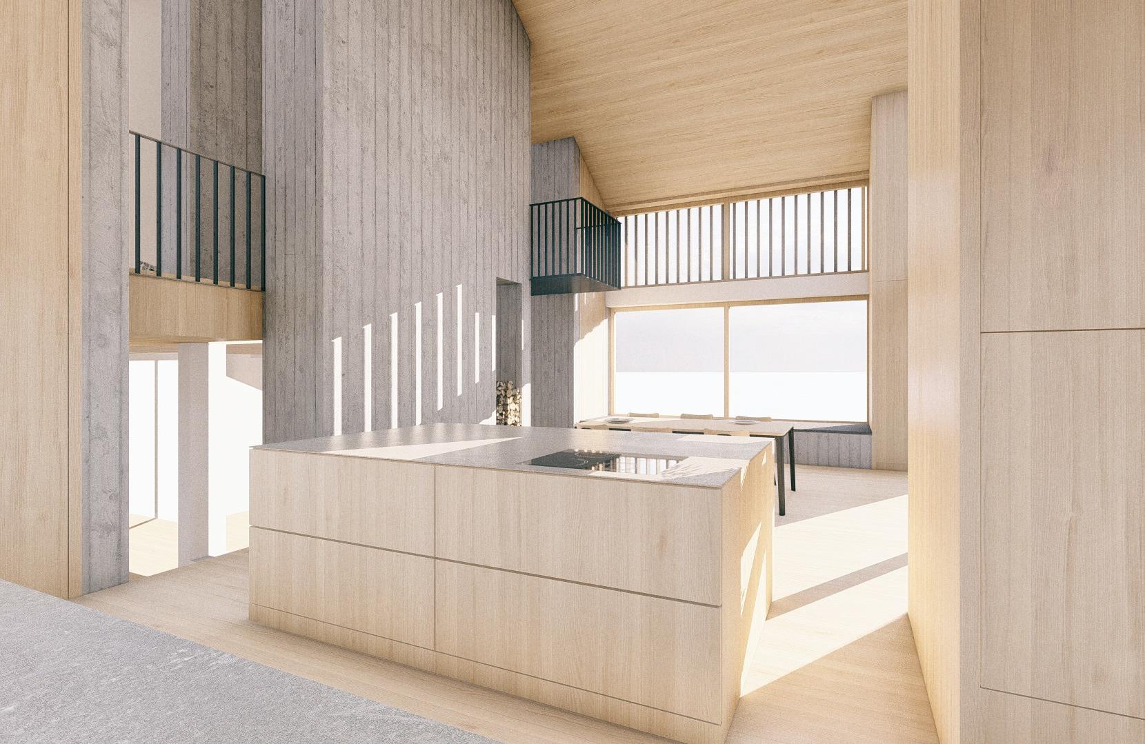 Stilelement Sichtbeton.   SNOW ARCHITEKTUR Architektur in Innsbruck